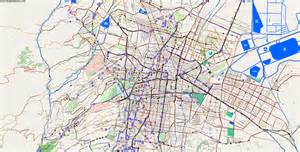 Mexico City On A Map by City Maps Mexico City