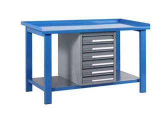 tavolo officina tavoli officina con piano superiore in metallo serie blm
