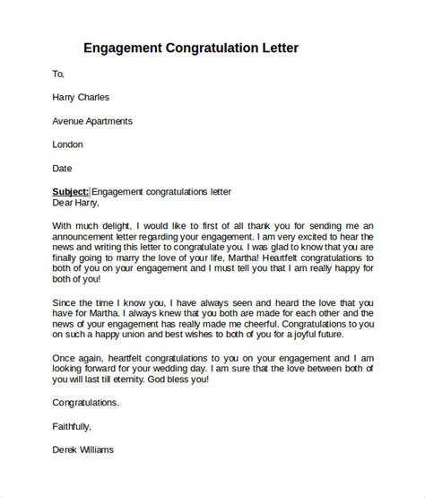 Engagement Letter Template sle engagement letter 9 free documents in