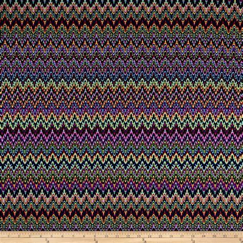 knit print fabric poly spandex flames knit print multi discount