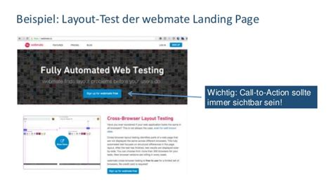 Web Layout Testing | qs tag 2015 web layout testing mit galen und webmate