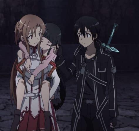 drawing and painting free yui kirito and asuna sword sao