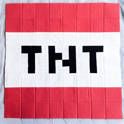 minecraft tnt block template minecraft quilt block 14 tnt my rainy day designs