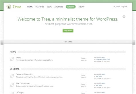 blog theme in themeforest tree minimal blog wordpress theme by arrowsuites