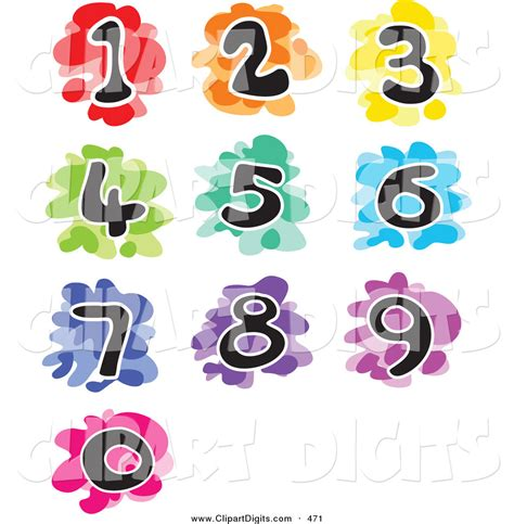 numbers clipart number clip 1 5 clipart panda free clipart images