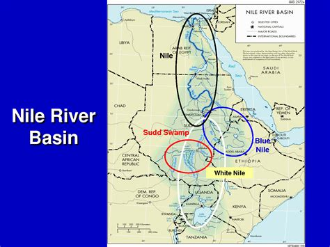 nile river on a africa map africa news update
