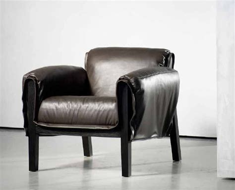 contemporary leather armchair image gallery modern leather armchair