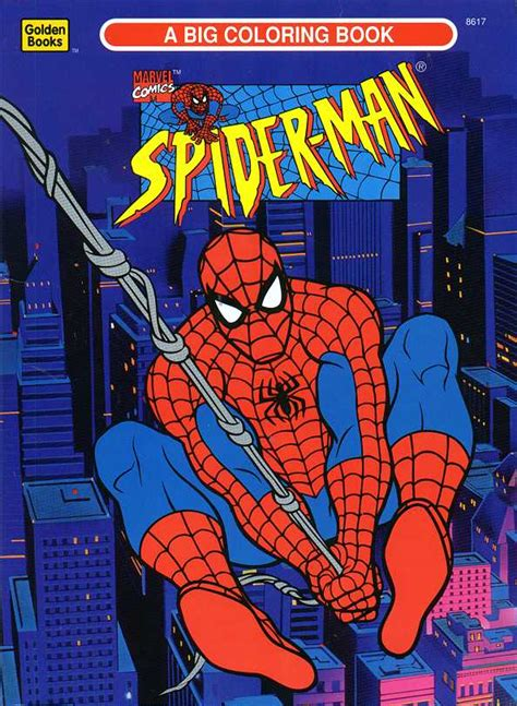 golden spiderman coloring page spiderfan org comics spider man color activity golden