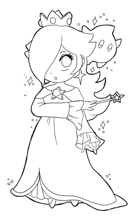 mario coloring pages princess free coloring pages of mario and rosalina