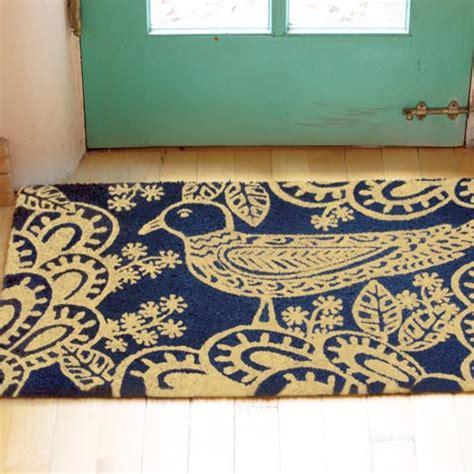 Bird Doormat by Blue Bird Doormat All Gifts Olive Cocoa