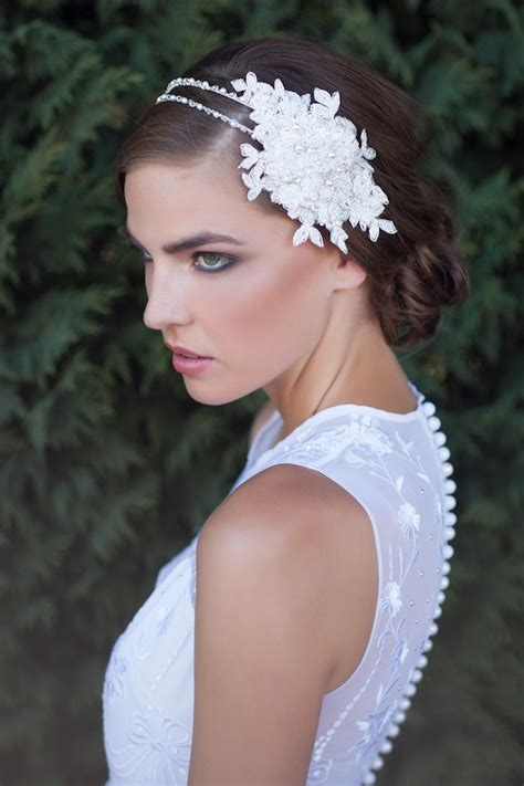 Handmade Wedding Headpieces - percy handmade bridal headpieces bridal musings
