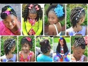 8 year black hair dues cute black braided hairstyles for little girls youtube