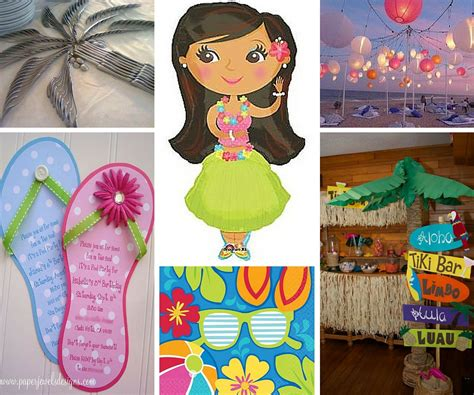 hawaiian themed games luau party ideas summer party ideas at birthday in a box