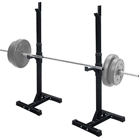 bench press weight rack f2c pair of adjustable rack sturdy steel squat barbell free bench press stands gym