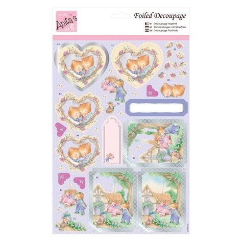 Decoupage Supplies Uk - foiled decoupage garden diecut decoupauge