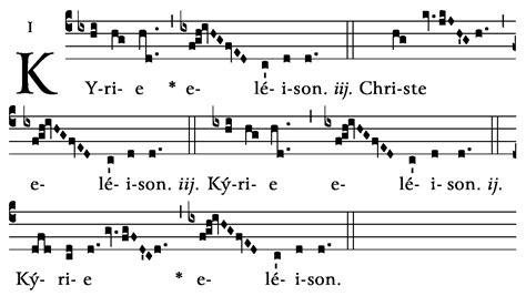 kyrie eleison testo schola cantorum christi religious order