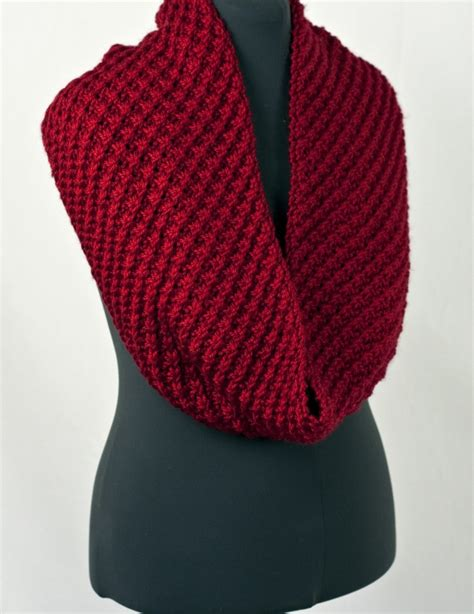 knitted pacific chunky cowl free pattern