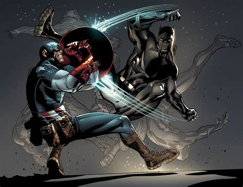 captain steel vs black panther battles comic vine batman and deathstroke vs captain america and black panther battles comic vine