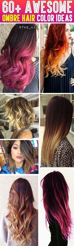 try different hair colors 25 best ideas about different hair colors on pinterest