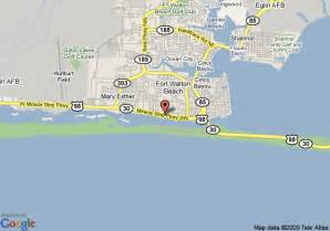 map of fairway inn fort walton fort walton