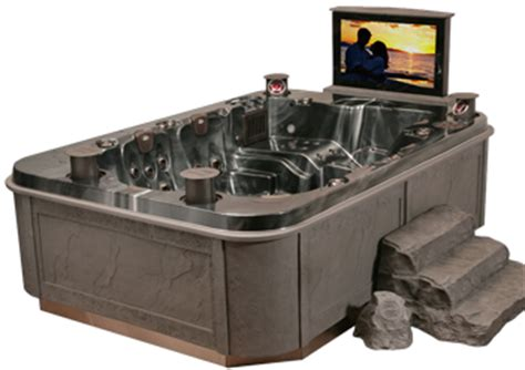 Hot Tub   Coast Spas Mirage TV   10 Person Hot Tub