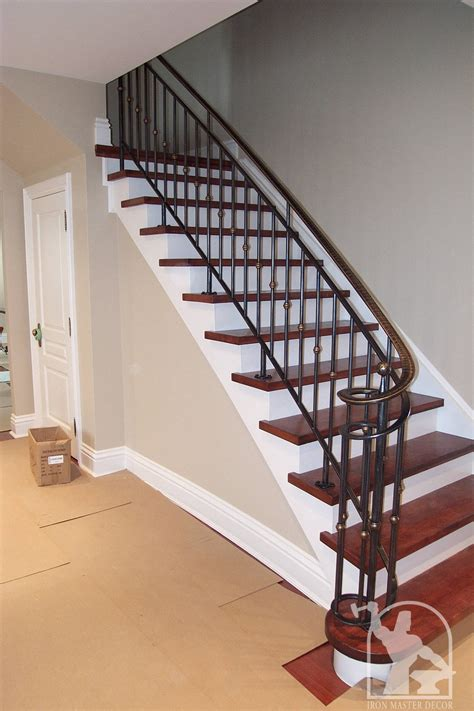 interior banister railings wrought iron interior railings photo gallery iron master