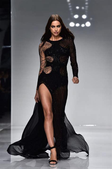 Catwalk Wardrobe by Usa Fashion News Irina Shayk On The Runway Of