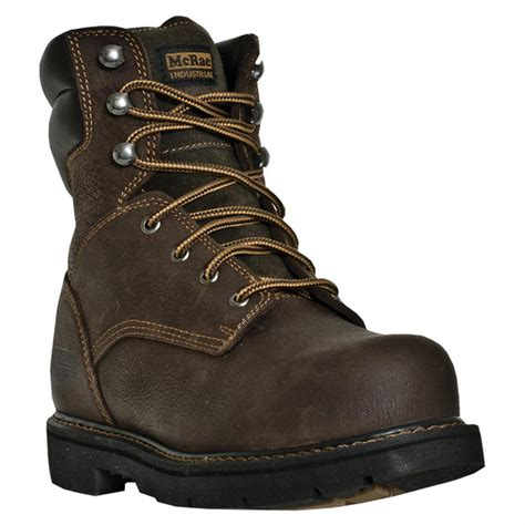 mcrae 8 quot steel toe electrical hazard lace up boots