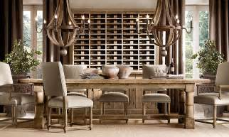 Restoration Hardware Dining Rooms by Rooms Restoration Hardware