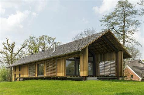 schuur architectuur foreco innovatief in hout project schuurwoning