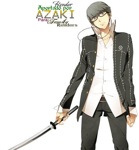 Gamis Auter anime renders family renders