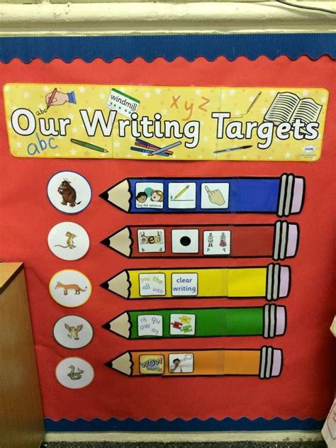new year display ks1 lovely writing target display using twinkl resources