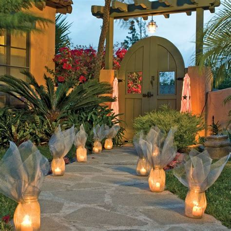 best outdoor luminaries 25 best ideas about outdoor walkway on diy walking path stepping walkways