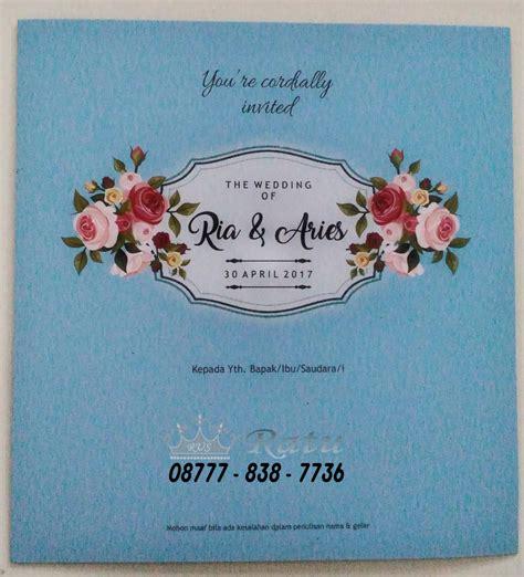 Souvenir Undangan Murah undangan pernikahan murah surabaya jual undangan