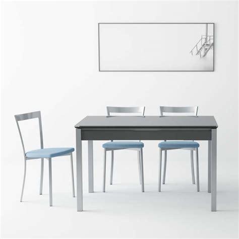 table cuisine tiroir table de cuisine en verre extensible avec tiroir camel