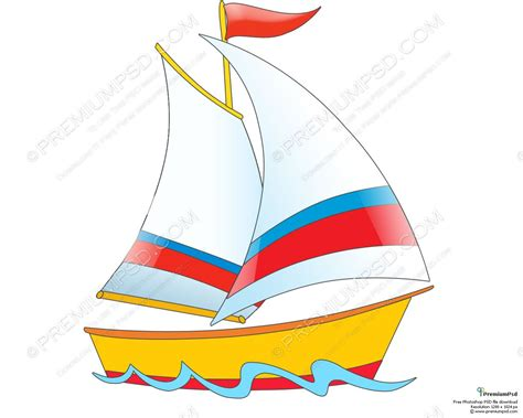 a boat cartoon cartoon boat cartoon ship design psd download