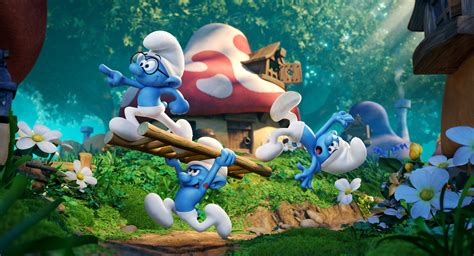 The Smurfs review smurfs reboot serves up some blue cheese daily hive calgary