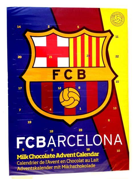 Calendrier F C Barca Calendrier De L Avent Fc Barcelone Vente En Ligne
