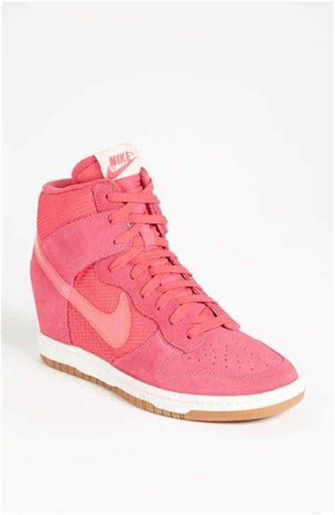 nike wedge sneakers on sale s nike dunk sky hi wedge sneaker 3 quot heel