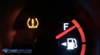 low tire pressure warning light how to fix a low tire indicator warning light in 5