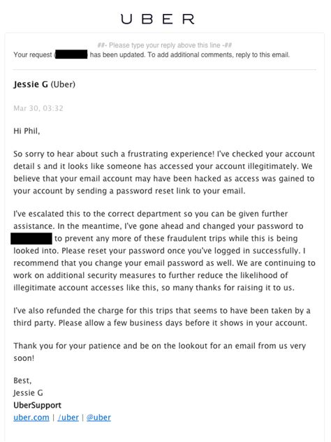email format uber uber users say they re being charged for trips they didn t
