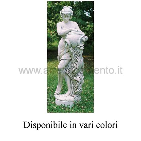 statue giardino statue da giardino alla fonte grande cm125h nei vari