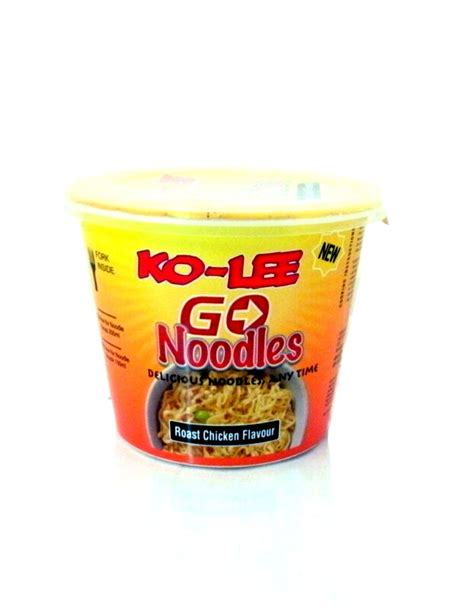 Cup Noodles Goes Refillable by Ko Roast Chicken Flavour Go Instant Cup Noodles Buy