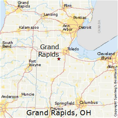 map usa grand rapids best places to live in grand rapids ohio