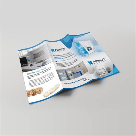 flyer design lab visual identity design for dental laboratory