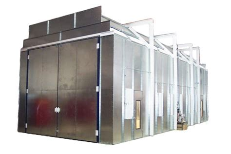 Col Met Down Draft Spray Booth