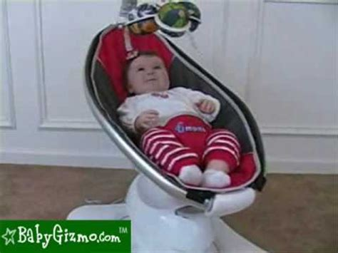 mamaroo baby swing reviews baby gizmo 4moms mamaroo review youtube