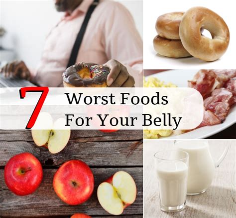 The 7 Worst Diets by The 7 Worst Foods For Your Belly Diy Home Remedies