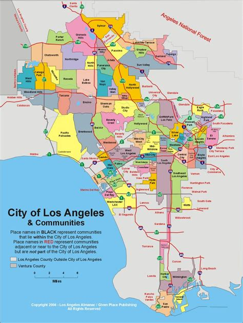 map of los angeles county serving cities furnace repair orange county