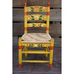 vintage mexican painted chair my style clothing